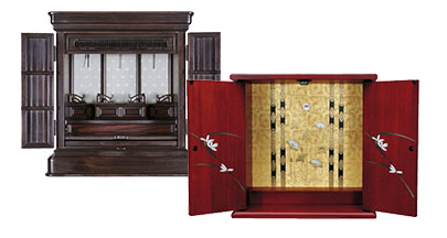 仏壇・仏具の販売、ご相談を承ります。