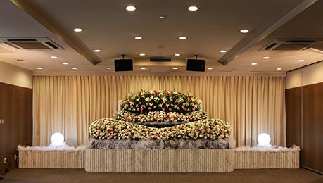 コムウェルの花祭壇の流れ04
