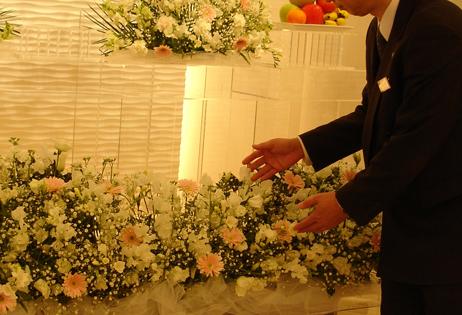 スムーズに葬儀を行うことができた。